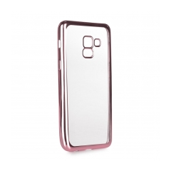 ELECTRO Jelly - zadný obal pre Samsung Galaxy A5 2018 / A8 2018 rose gold