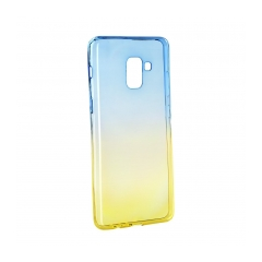 Forcell OMBRE    Case Samsung Galaxy A7 2018 / A8 PLUS blue-gold