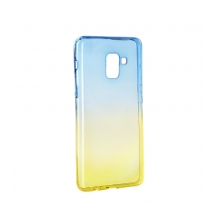 Forcell OMBRE    Case Samsung Galaxy A5 2018 / A8 2018 blue-gold