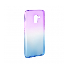 Forcell OMBRE    Case Samsung Galaxy A5 2018 / A8 2018 purple-blue