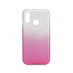 Forcell SHINING - puzdro pre Huawei P20 LITE clear/pink