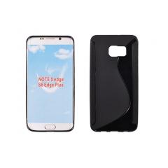 Puzdro gumené S-CASE Samsung G928FZ GALAXY S6 EDGE+ čierne