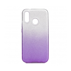 Forcell SHINING - puzdro pre Huawei P20 LITE transparent/violet