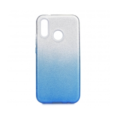 Forcell SHINING - puzdro pre Huawei P20 LITE clear/blue