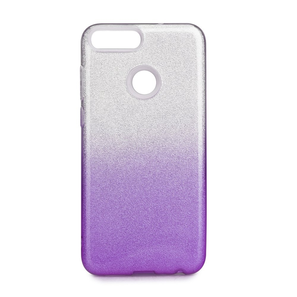 Forcell SHINING - puzdro pre Huawei P SMART transparent violet ... 399994d8638