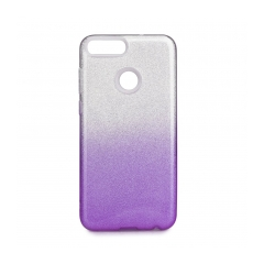 Forcell SHINING - puzdro pre Huawei P SMART transparent/violet