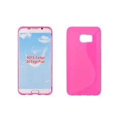 Puzdro gumené S-CASE Samsung G928FZ GALAXY S6 EDGE+ pink