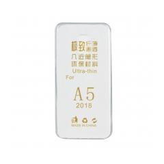 Silikónový 0,3mm zadný obal pre Samsung Galaxy A8 2018 transparent