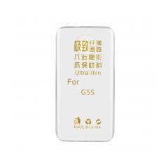 Silikónový 0,3mm zadný obal pre Lenovo MOTO G5S transparent