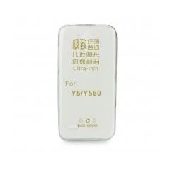 Silikónový 0,3mm zadný obal pre Huawei Y6 2018 transparent