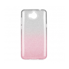 Forcell SHINING - puzdro pre Huawei Y6 2018 clear/pink