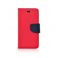 Fancy Book - puzdro pre LG Q7 red-navy
