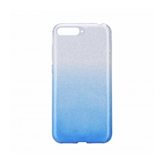 Forcell SHINING - puzdro pre Huawei Y6 2018 clear/blue