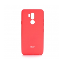 Roar Colorful Jelly - kryt (obal) pre LG G7 ThinQ  hot pink