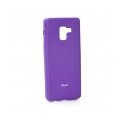 Roar Colorful Jelly - kryt (obal) pre Samsung Galaxy A8 2018 purple