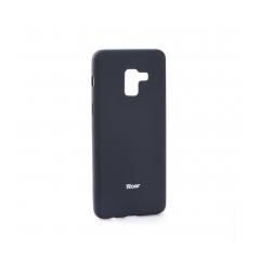 Roar Colorful Jelly - kryt (obal) pre Samsung Galaxy A8 2018 black