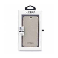 Original puzdro GUESS GUFLBKPXIGLTGO iPhone X Gold