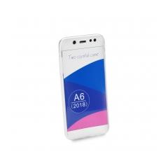 360 Ultra Slim - puzdro pre Samsung Galaxy A6 (A6 2018) transparent