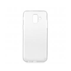Silikónový 0,5mm zadný obal pre Samsung Galaxy A6 (A6 2018) transparent