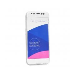 360 Ultra Slim - puzdro pre Samsung Galaxy A8 2018 transparent