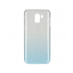 Forcell SHINING - puzdro pre Samsung Galaxy J6 2018 transparent/blue
