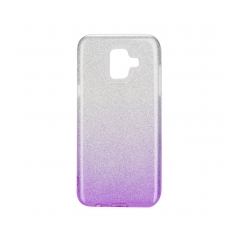 Forcell SHINING - puzdro pre Samsung Galaxy A6 2018 clear/violet