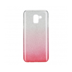 Forcell SHINING - puzdro pre Samsung Galaxy J6 2018 transparent/pink