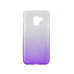 Forcell SHINING - puzdro pre Samsung Galaxy A8 2018 clear/violet