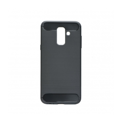 Forcell CARBON - puzdro pre Samsung Galaxy A6 PLUS black