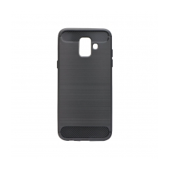Forcell CARBON - puzdro pre Samsung Galaxy A6 black