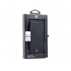 Original Book Case Mercedes MEFLBKS9CFBK Samsung S9 black