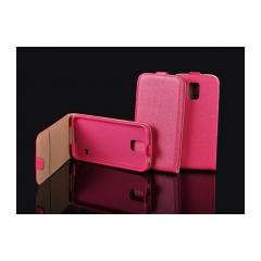 Puzdro flip flexi slim Samsung G928FZ GALAXY S6 EDGE+ ružove