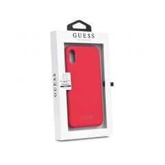 Original kryt (obal) GUESS GUHCPXLSGLRE iPhone X red