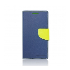Puzdro Fancy Diary Mercury - Samsung Galaxy (SM-G900) S5 navy-lime