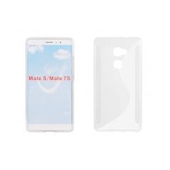 Puzdro gumené S-CASE pre Huawei Mate S transparent