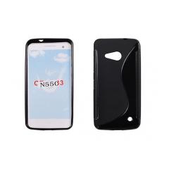 Puzdro gumené S-CASE Microsoft lumia 550 čierne