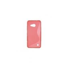 Puzdro gumené S-CASE Microsoft lumia 550 ružové