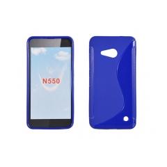 Puzdro gumené S-CASE Microsoft lumia 550 sapphire