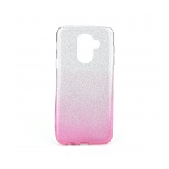 Forcell SHINING - puzdro pre Samsung Galaxy A6 Plus 2018 clear/pink