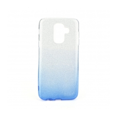 Forcell SHINING - puzdro pre Samsung Galaxy A6 Plus 2018 clear/blue