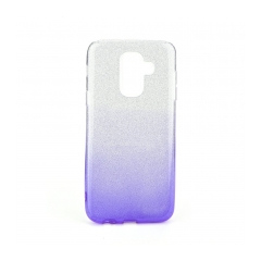 Forcell SHINING - puzdro pre Samsung Galaxy A6 Plus 2018 clear/violet