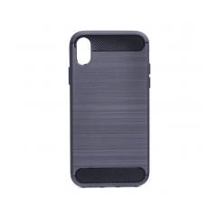 Forcell CARBON - puzdro pre Apple iPhone XR ( 6,1 ) graphite