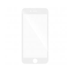 5D Full Glue Temperované ochranné sklo pre Samsung Galaxy A6 2018 white