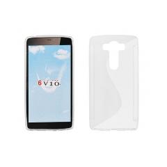 Puzdro gumené S-CASE na LG V10 (H900) transparent