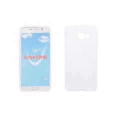 Puzdro gumené S-CASE Samsung A310 Galaxy A3 (2016) biely