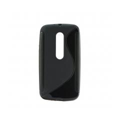 Puzdro gumené S-CASE MOTOROLA G3 čierny
