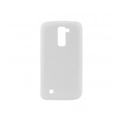 Puzdro gumené  Jelly Bright Ultra Slim 0 3mm - LG K8 biele
