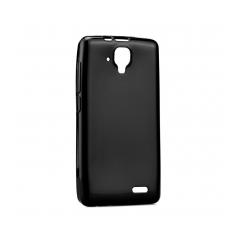 Puzdro gumené  Jelly Bright Ultra Slim 0 3mm - LG K8 čierne