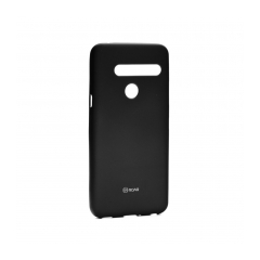 Roar Colorful Jelly - kryt (obal) pre LG G8 ThinQ black