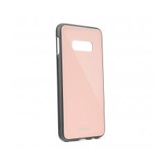 GLASS Case Samsung Galaxy S10 Lite pink